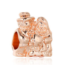 2018 European Silver Charms Bead Dangle Pendant Fit 925 Sterling Bracelet Chain