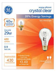 6-Pack Philips 40A//CL Clear Incandescent 40-Watt Lamp Light Bulb 40W A19