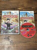 Monopoly (Nintendo Wii, 2008)- Complete