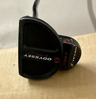"""Used Right Handed Odyssey Metal-X 2-Ball 34"""" Putter Steel Golf Club"""
