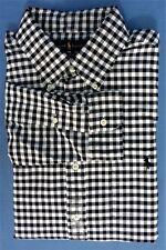 New Mens Polo Ralph Lauren LG Oxford Long Sleeve Cotton Black 34/35 Sleeve