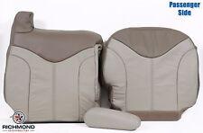 2001 GMC Sierra C3 Denali 4X4 -Passenger Side Complete Leather Seat Covers Tan