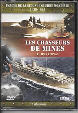 DVD ZONE 2--DOCUMENTAIRE--CHASSEUR DE MINES - HMS VERNON-2e GUERRE MONDIALE-NEUF