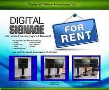 Digital Signage for Rent