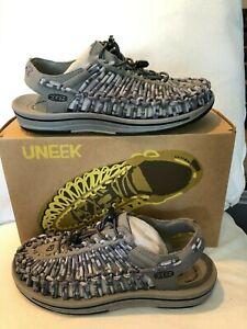 Keen Uneek Steel Grey/Magnet Sandal Men's US sizes 7-14 NEW!!!