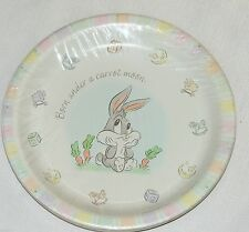 NEW BABY LOONEY TUNES CLASSIC COLLECTION 8-PAPER  DINNER  PLATES PARTY SUPPLIES