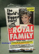 The Royal Family 12-Pack Lot, 1993 PressPass,  Princess Diana - Mint Condition