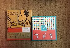 SNOOPY PEANUTS JOURNAL AND MEMO CADDY