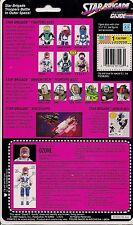 Vintage 1993 GI Joe Ozone Fullback File Card, Very Good condition!