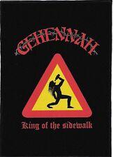 GEHENNAH BACKPATCH / SPEED-THRASH-BLACK-DEATH METAL