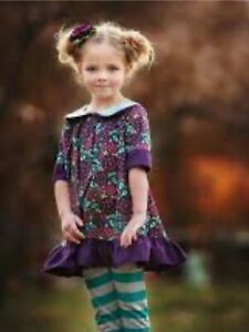 Persnickety EUC Plum Crazy Isabell Dress & Pants Set 2