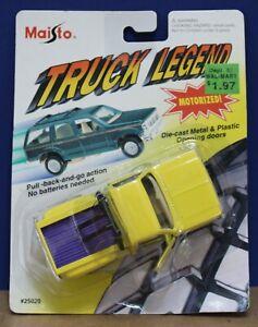 Maisto 25020 Truck Legend O 1:43 Chevy 4x4 Step Side Pickup Yellow MOC 1994