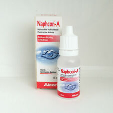 NAPHCON-A Sterile Ophthalmic Solution Eyedrops (3 Bottles X 15ML)