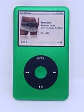 REFURBISHED Apple iPod classic 7th Generation Green thin (120 GB) SSD UPGRADE