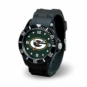 Men's Black watch Spirit - NFL - Green Bay Packers