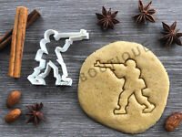 Soldier Cookie Cutter 01   Fondant Cake Decorating   UK Seller