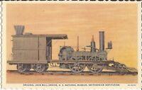Washington DC - 1936 - Smithsonian Institution - John Bull Engine -  Locomotive