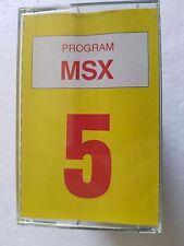 Msx SUPER msx n.5