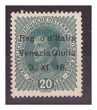 VENEZIA GIULIA 1918 - 20  HELLER   NUOVO   **