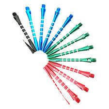 30Pcs Aluminum Alloy Darts Shafts Harrows Dart Stems 53mm Mixed Color tools