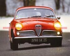 ALFA ROMEO GIULIETTA Coupé Sprint 1954 Fiche Auto #008916