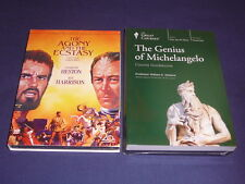 Teaching Co Great Courses  DVDs     THE GENIUS of MICHELANGELO      new + BONUS