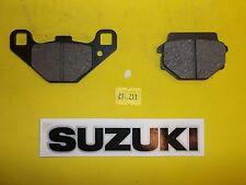 27-211 Emgo 67 SUZUKI FRONT/REAR Brake Pads  87 GSXR 50 / 91-96 GN 125