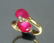 White Gold Filled Eternity Fine Rings