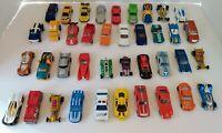 Hot Wheels, Matchbox Lot of 40 Loose Diecast & Plastic Cars Trucks
