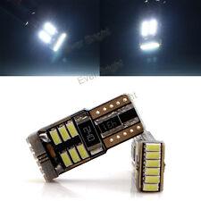 100Pcs T10 Canbus 3014 18SMD W5W 194 168 921 No Error LED Light Bulbs White 12V