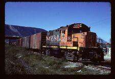 Original Slide NdeM Nacionales de Mexico ALCO RS11 7292 Action In 1985