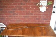 """Vintage Iron Hay Bale Hook > Hanger Antique Farm Old Tools - 42"""" Overall"""