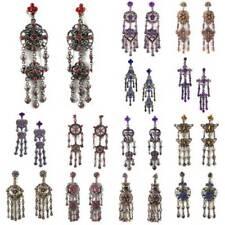 Rhinestone Butterfly Fashion Earrings