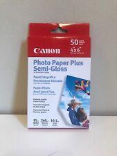 """Canon Photo Paper Plus semi-gloss 4""""x6"""" 50"""