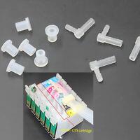 10 Stück Tintenpatronen-Winkelstück Kopfverbindungen für Canon HP Epson Zubehör