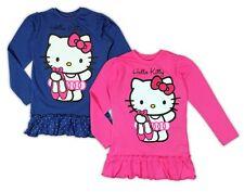 Hello Kitty Langarmshirt 92 98 104 110 116 122 128 134 Mädchen Tunika langarm