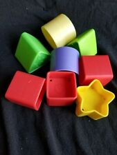 Baby's First Blocks plastic shapes for toddler toy