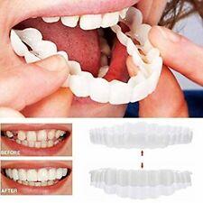 Braces Instant Veneers Dentures Fake Teeth Smile Serrated Denture Teeth Comfort