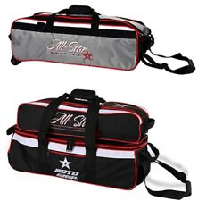PAIR of Roto Grip 3 Ball Tote Bowling Bags 1 Balls Only & 1 With Shoe Pocket