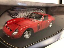 Ferrari 250 GTO. Red. Hotwheels . 1/18 Scale. Boxed .