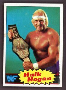 HULK HOGAN 1985 TOPPS WWF WRESTLING #16 ROOKIE RC CHAMPION ALL TIME GREAT