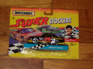 New 1992 Matchbox Diecast NASCAR Super Stockers Davey Allison Daytona 500 Winner