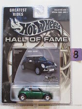 HOT WHEELS HALL OF FAME 2001 MINI GREATEST RIDES