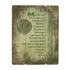 "Irish Blessing Wood Pallet Sign 12 X 15"" (D3364) May the Road Rise to Meet You"