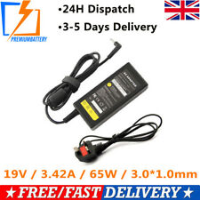New Laptop AC Charger For Acer Aspire ONE CloudBook 14 AO1-431-C2Q8 65W PSU UK