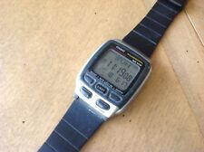 Vintage Mens Casio Databank Watch model 2524 working condition with manual
