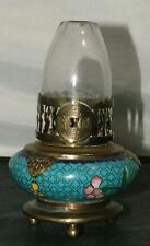 Antique Vintage Miniature Chinese Cloisonne Opium Fairy OIL Boudoir LAMP Lantern