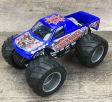 Hot Wheels Monster Jam 1:24 Die-cast Toy Monster Truck King Krunch Mattel 2004