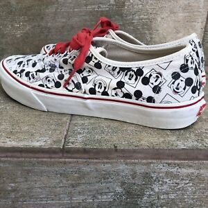 Vans Samples mickey mouse shoes
