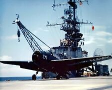 """U.S. Navy Gruman TBM-3E Avenger Carrier USS Monterey 8""""x10"""" Korean War Photo 20"""